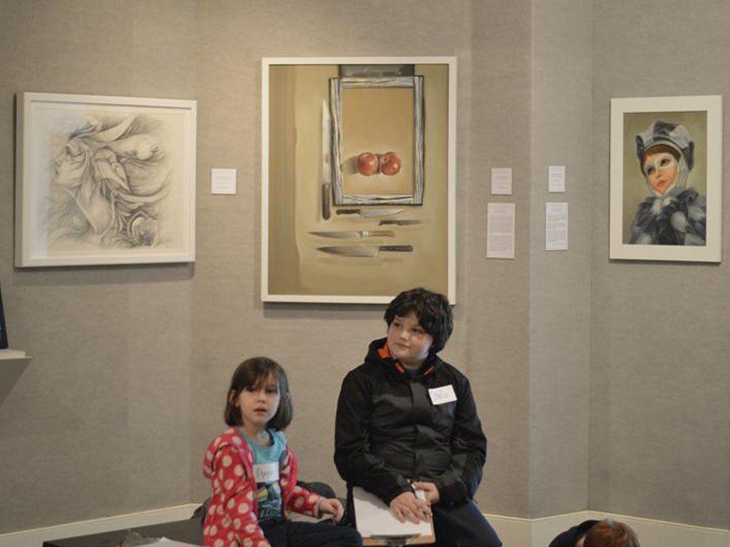 """Voices of the Island"". 2015. Museo de Arte: Franklin G. Burroughs-Simeon B. Chapin, Myrtle Beach. Carolina del Sur. Estados Unidos."