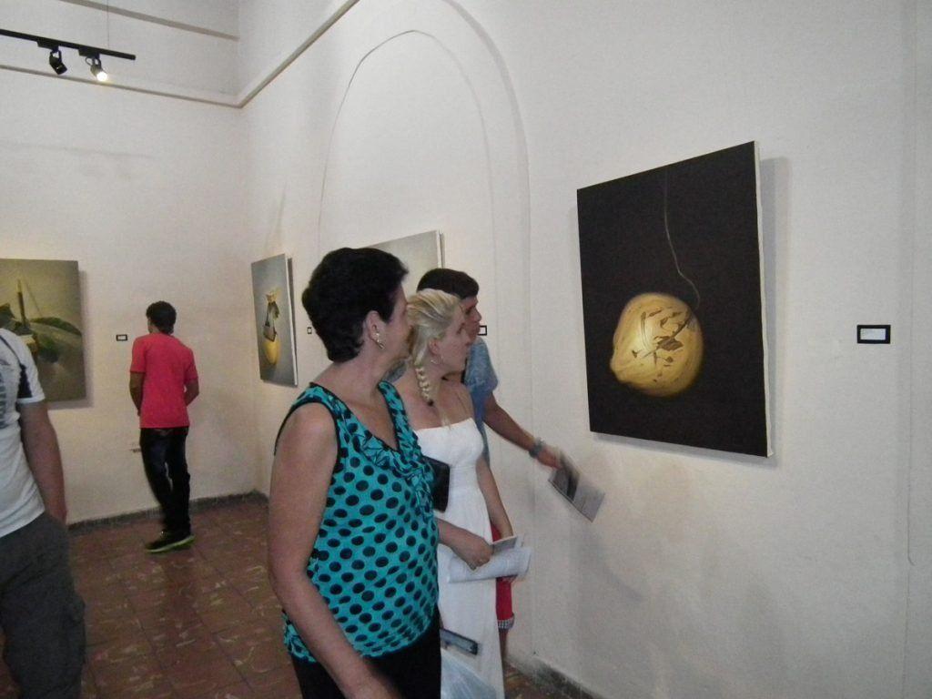"""Ser- Estar"". 2014. Galería Sala Real, Casa del Joven Creador. (AHS). Pinar del Río, Cuba."