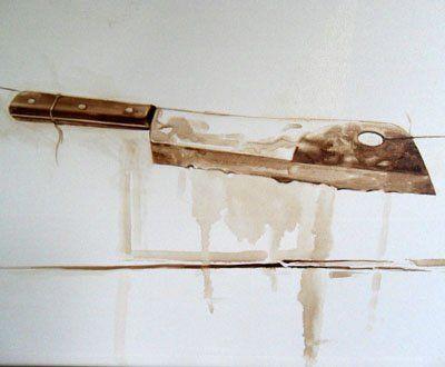 Javier Ampudia / Estudio 2 .45 x 60 cm.