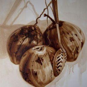 Javier Ampudia / Obsesiones usadas. 2012.100x 80 cm